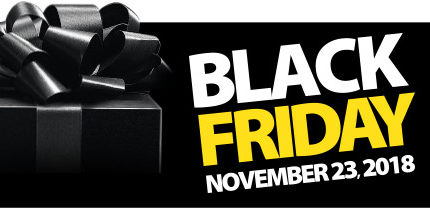 Black Friday is Here Again!